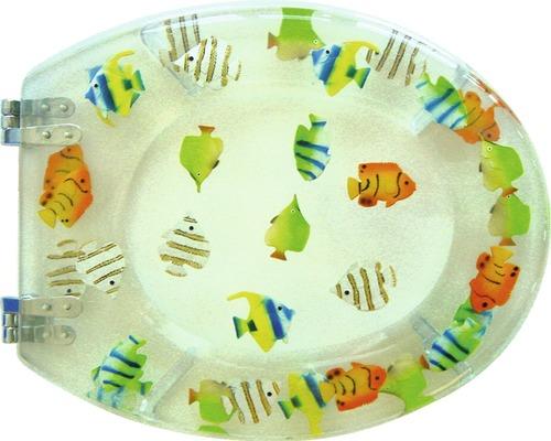 WC-Sitz ADOB Tivoli Fische