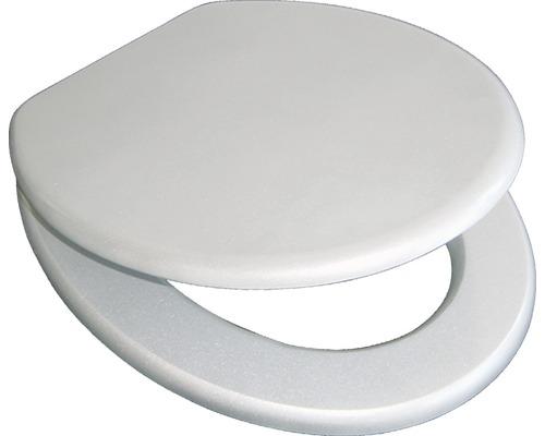 WC-Sitz ADOB Ascoli Silber