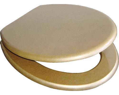 WC-Sitz ADOB Ascoli Gold mit Absenkautomatik