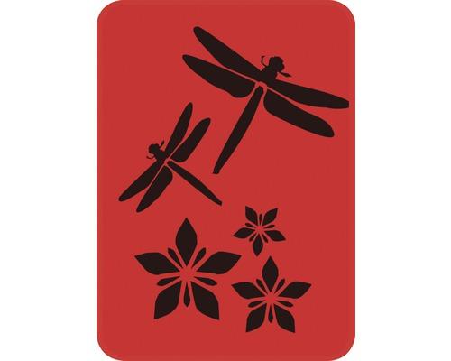 Dekorschablone Libellen 14,5 x 20,5 cm