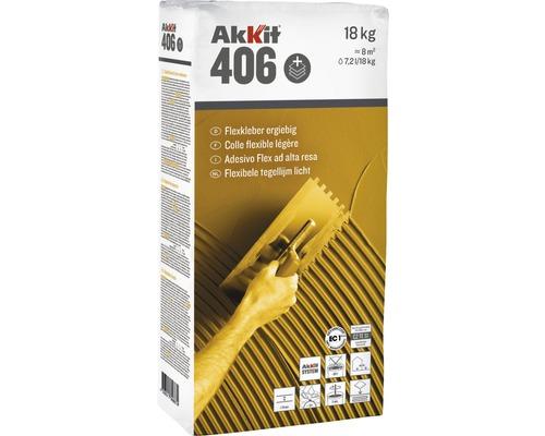 Akkit 406 Flexkleber schnell 18 kg