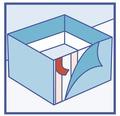 Tesa doppelseitiges Klebeband universal 50 mm x 25 m