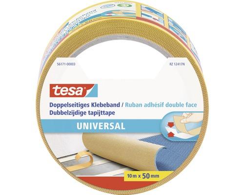 tesa doppelseitiges Klebeband Universal gelb 10m x 50mm