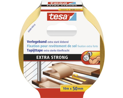 Tesa Verlegeband extra stark klebend 50 mm x 10 m