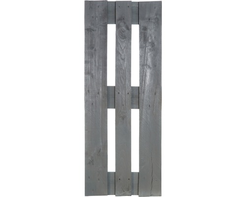 Projektpalette halb 120x40x15 cm grau