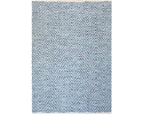 Fleckerl-Teppich Venus 510 blau 160x230 cm