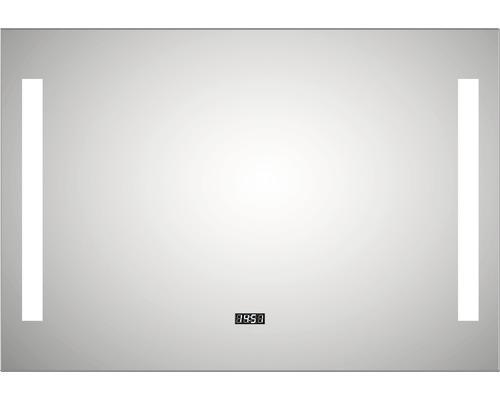 LED Lichtspiegel DSK Silver River mit Alurahmen 100x70 cm