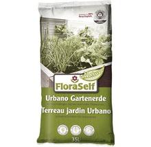 Urbano-Erde FloraSelf Nature mit Mykorrhiza, 35 L