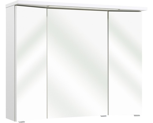 Spiegelschrank Pelipal Enna I 72x90 cm 3-türig weiß