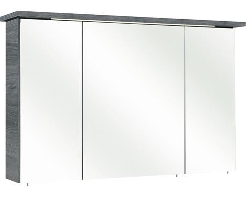 Spiegelschrank Pelipal Cesa III 72x115 cm 3-türig graphit