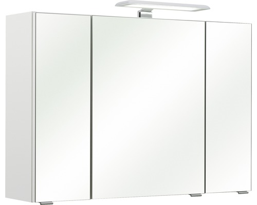 Spiegelschrank Pelipal Lea II 57x80 cm 3-türig weiß