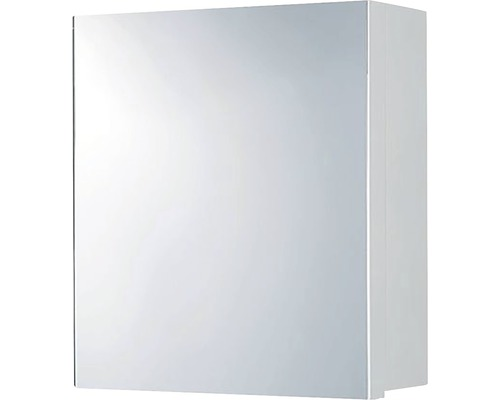 Spiegelschrank Maja 50x15x46 cm 1-türig weiß
