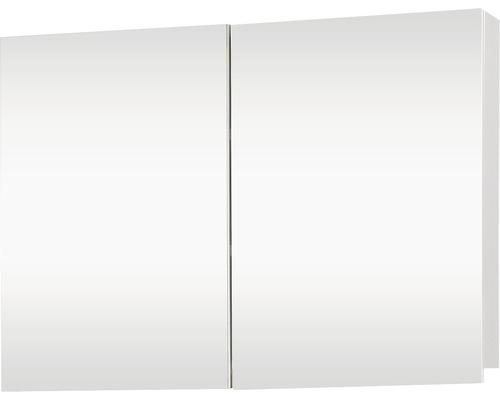Spiegelschrank Brida 85x15x50 cm 2-türig weiß
