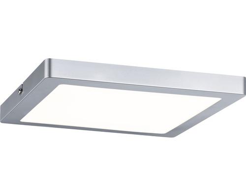 LED Panel Atria chrom-matt 1-flammig mit Leuchmittel 1150 lm 2700 K warmweiß 220x220 mm