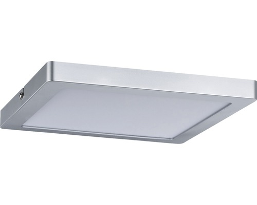 LED Panel Atria chrom-matt 1-flammig mit Leuchmittel 1150 lm 2700 K warmweiß 220x220 mm