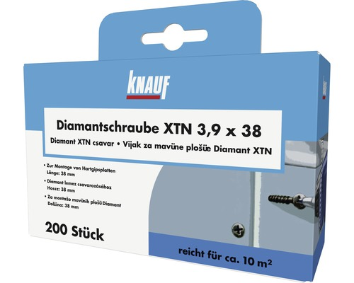 Diamantschraube XTN 3,9x38 mm (200 Stk.)