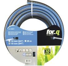 Gartenschlauch for_q Komfort Kunststoff 3/4 Zoll 25 m blau