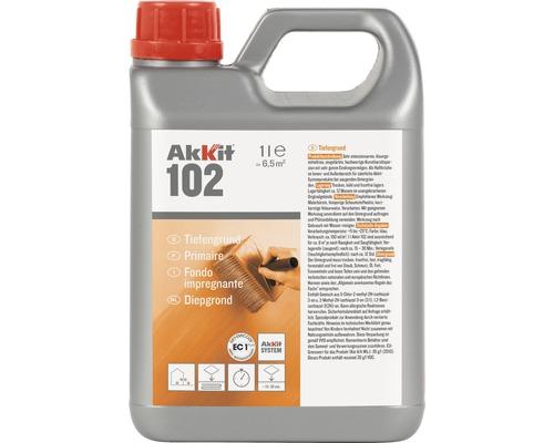 Akkit 102 Tiefengrund für saugende Untergründe 1 L