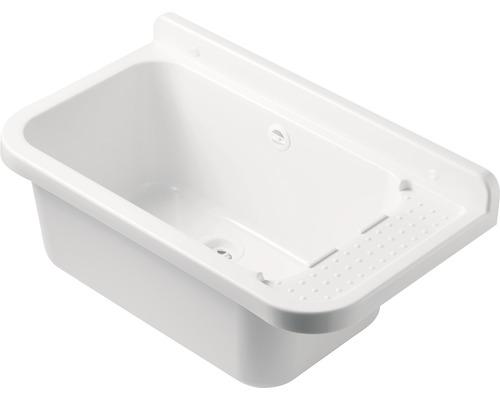 Ausgussbecken Pilozzo 2051 B 60x34x26 cm weiß