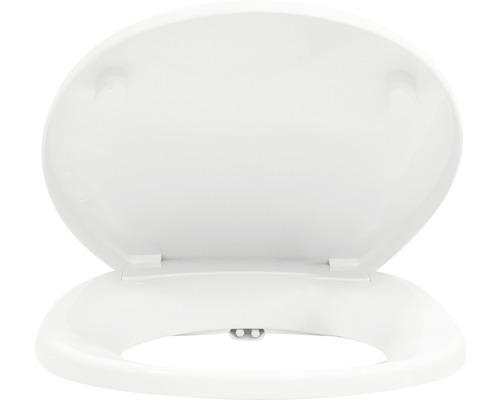 Dusch-Bidet-Sitz Form & Style weiß mit 1/2 Zoll Wasseranschluß mit Absenkautomatik