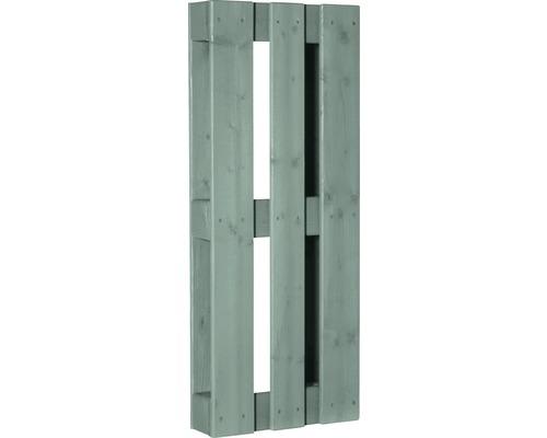Stylepalette exklusiv mit gehobelter Oberfläche 100x40x12 cm mintgrün
