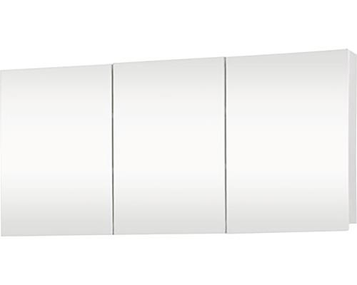 Spiegelschrank Brida 100x15x50 cm 2-türig weiß