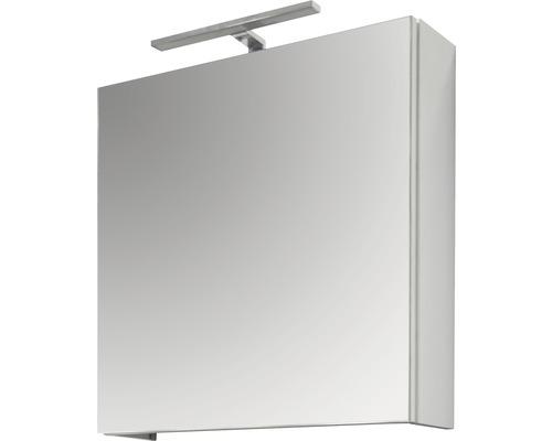 Spiegelschrank Sanotechnik 2180 60x60x15 cm 1-türig weiß