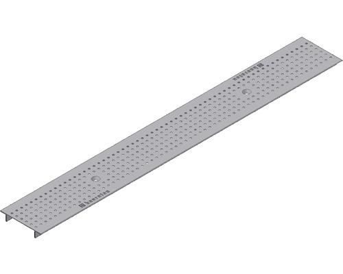 Klemm Lochrost für Faserfix/Recyfix Standard 100 1000x136x22 mm Silberfarben