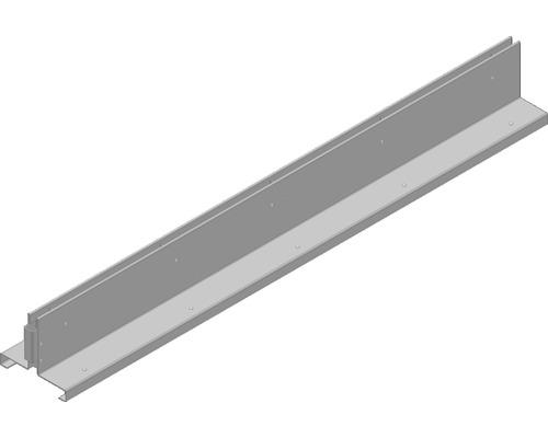 Schlitzabdeckung symetrisch Faserfix/Recyfix Standard 100 1000x160x128 mm Silberfarben