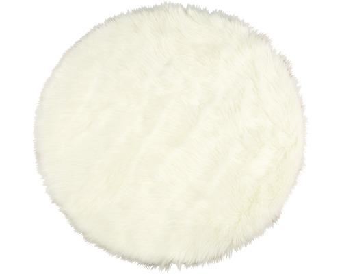 Kunstschaffell weiß Ø 100 cm
