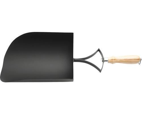 Ascheschaufel Kanuk Stahl schwarz