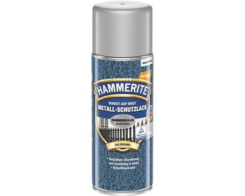 HAMMERITE Metall-Schutzlack Hammerschlag Silbergrau 400 ml