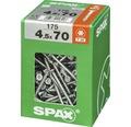 Spax Universalschraube Senkkopf Stahl gehärtet T 20, Holz-Teilgewinde 4,5x70 mm, 175 Stück