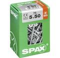 Spax Universalschraube Senkkopf Stahl gehärtet T 20, Holz-Teilgewinde 5x50 mm, 75 Stück