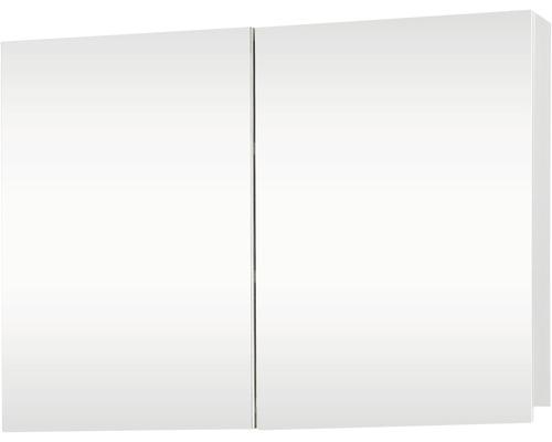 Spiegelschrank Brida 67,5x50x15 cm weiß 2 türig