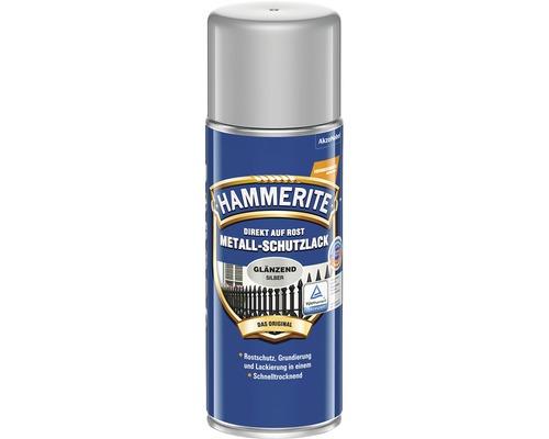 HAMMERITE Metall-Schutzlack glänzend Silbergrau 400 ml