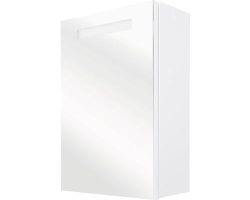 LED-Spiegelschrank Elba 56x15x70 cm 1-türig weiß