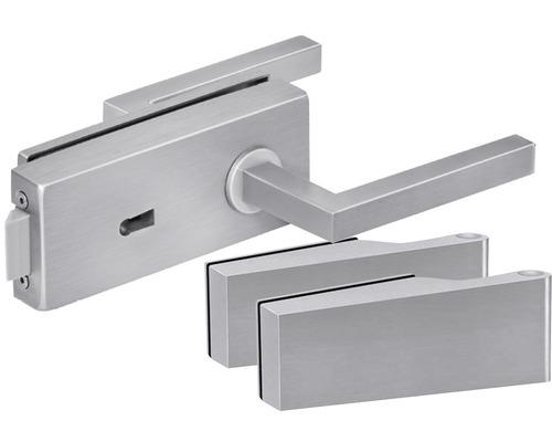 Beschlag-Set für Glastüren Pertura Quadre verschließbar