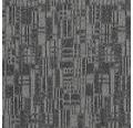 Teppichfliese Impact 985 graphit 50x50 cm