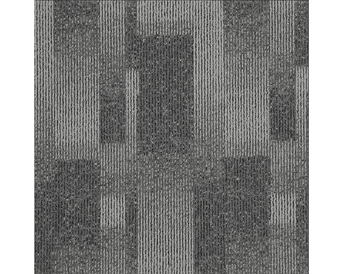 Teppichfliese Impression 985 graphit 50x50 cm