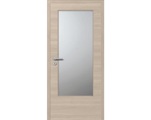 Innentüre CPL Plus stumpf Arena GL inkl. Lichtausschnitt (ohne Glas) 82,2x201,6 cm rechts