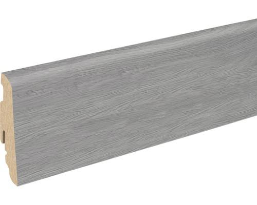 Sockelleiste FU60L Makro Eiche 19x58x2400 mm