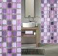 Duschvorhang Kleine Wolke Sonny violett 180x200 cm