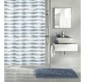 Duschvorhang Kleine Wolke Stripy blau 180x200 cm