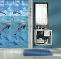 Duschvorhang Kleine Wolke Dolphin multicolor 180x200 cm
