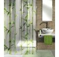 Duschvorhang Kleine Wolke Bambú grün 180x200 cm