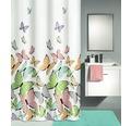 Duschvorhang Kleine Wolke Butterflies multicolor 180x200 cm