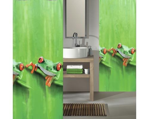 Duschvorhang Kleine Wolke Charlie grün 180x200 cm