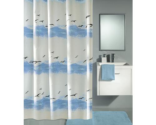 Duschvorhang Kleine Wolke Seaside Blau 180x200 cm
