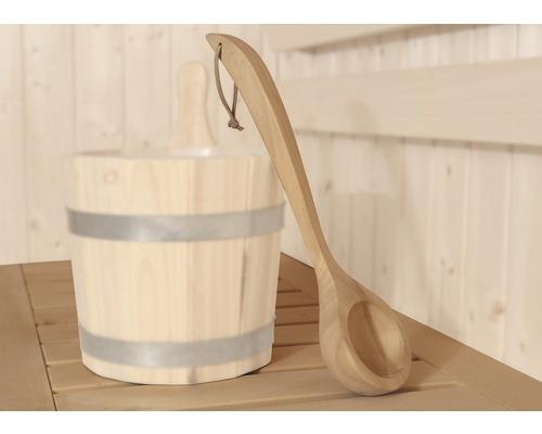 Sauna Schöpfkelle Weka aus Holz